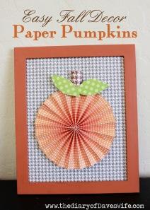 Paper+Pumpkins